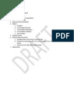 May 14th Executive Committee Meeting Agenda (Draft)
