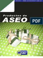 Formulas para fabricar productos de aseo