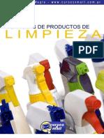 Formulas para fabricar productos de Limpieza