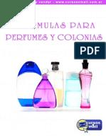 Formulas para fabricar Perfumes y Colonias