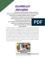 Sintesis de Desarrollo Endogeno