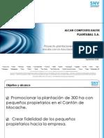 080915 Presentación NI con Productores de Mocache ALCAN