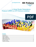 How to Configure Virtual Router Redundancy Protocol (VRRP) Configuration Note Sept 08 EMEA Eng A4.Pd