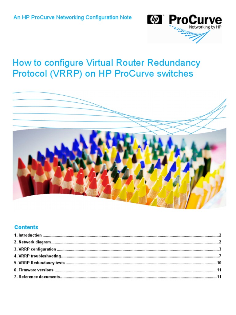 How to Configure Virtual Router Redundancy Protocol (VRRP