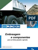 SACHS CATÁLOGO DE EMBREAGENS PESADA 2012