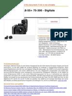 EOS 1000D Kit 18-55+ 75-300 - Digitale Spiegelreflex