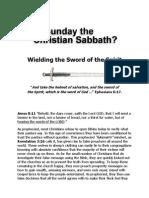 Is Sunday the Christian Sabbath
