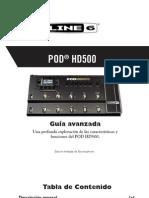 Line 6 POD Hd 500 Guia Avanzada