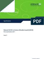IGCSE Science Dble Awd 4SC0 Version 3 Syllabus