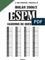 Prova espm2006-português