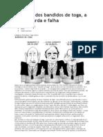 No Brasil Dos Bandidos de Toga