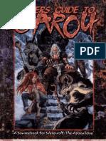 Werewolf - Apocalypse - Players Guide To Garou (3ª Edition)