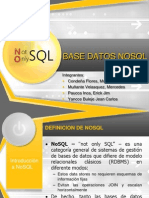 Base Datos Nosql