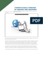 Internet en Todas Las Regiones Apartadas de Colombia