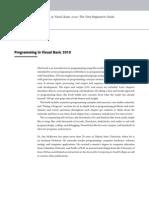Proggramming Visual Basic 2010
