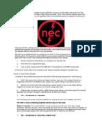Nec2008 Changes