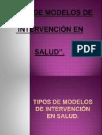Tipos de Modelos de InTerveNcioN