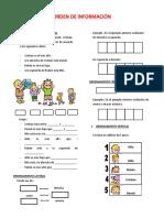 Orden de información (a)