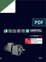 VARVEL SRD Stirnradgetriebe Broschure 2011 Rev00