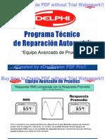 Prográma Técnico de Electrónica Automotiz, Cedva