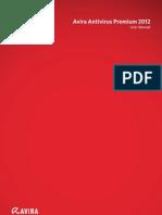 Avira Antivirus Premium 2012 User Manual