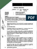 Resolución 555-2011-SUNARP-TR-L