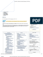 SAP Community Network Wiki - Enterprise Information Management - EIM Home
