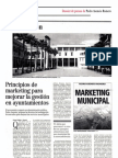 Director Económico, Reseña Marketing Municipal. 2008
