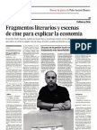 Diario de Almería. Un economista