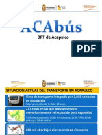 Proyecto Acabús