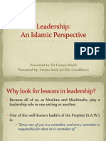 aMINA CHUGHTAI Leadership in Islamic Perspective