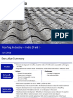Roofing Industry in India 2011 - Market Size and Growth, Drivers and Challenges