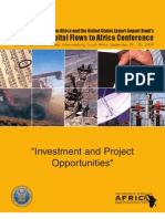 Investment and Project Opportunities Booklet