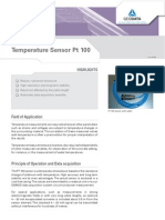 Temperature Sensor Pt 100
