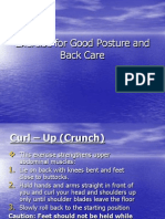 Exercise for Good Posture Presentation