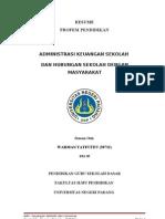 Administrasi Keuangan Sekolah & HUSEMAS