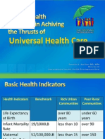 Roles of Health Providers in Achieving UHC