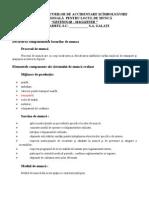 evaluare - gestionar - magaziner
