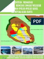 Pedum Penyusunan Rencana Zonasi WP-3-K Kabupaten