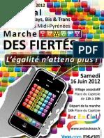 Programme du Festival des Fiertés LGBT 2012 de Toulouse