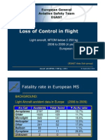 EGAST Data Loss of Control in Flight