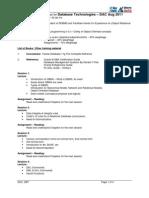 DBT Teaching Guidelines