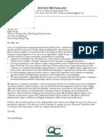 Sample General Management Cover Letter