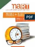 Concurs Smart Matematica - Ed13s2 Baraj 13 Site