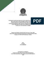 Pengantar PTK Matematika SD