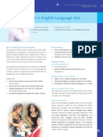 MAEnglish Language Arts- Polytech U