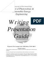 Writing Guide 2006