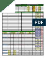 Character Sheet for D&D 3.5e