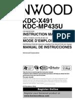 Manual Est Ere Ox 491