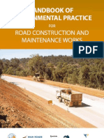 Hand Book for Environmental Precautions for Roads